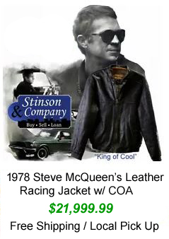 Steve McQueen's Leather Jacket