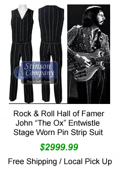 John Entwistle Stag wore outfit