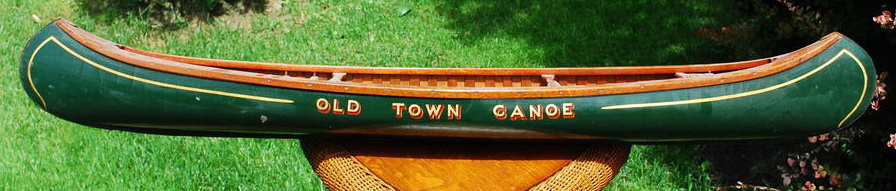 Stinson Company Old Town Salesman Sample 4' Foot Canoe
