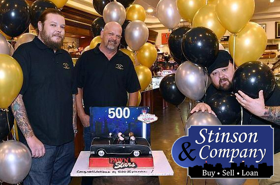 Stinson & Company appears on Pawn Stars